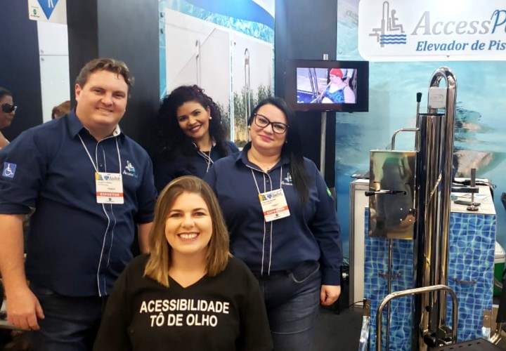 Reatech 2019: Stand do Access Pool foi sucesso durante a feira