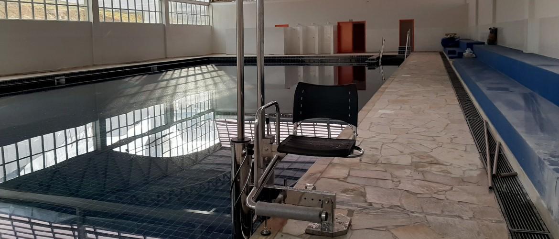 elevador de piscina, elevador para piscina, piscina com acessibilidade, access pool
